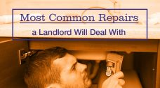 Most Common Repairs a Landlord Will Deal With